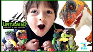 NEW Fingerlings Dinosaurs Complete Collection of Fingerlings Untamed Raptors