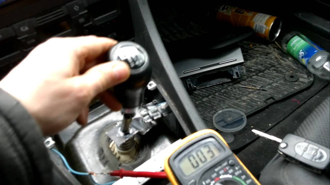 vw passat engine diagram honeywell frost and pipe stat wiring audi a4 b6 neutral gear safeli switch for start ( reed ) - youtube