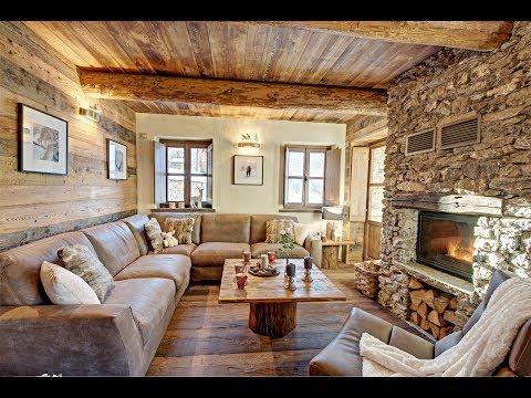 Интерьер дома в стиле ШАЛЕ в Турине. House Tour