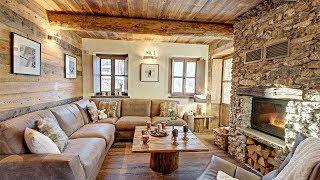 видео Дизайн интерьера деревянного дома, известные стили