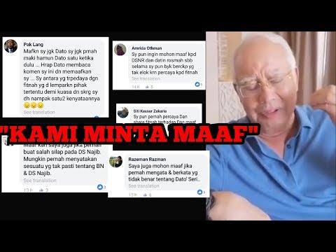 SEDIH! Rakyat Mula Minta Maaf Dengan Najib Bossku