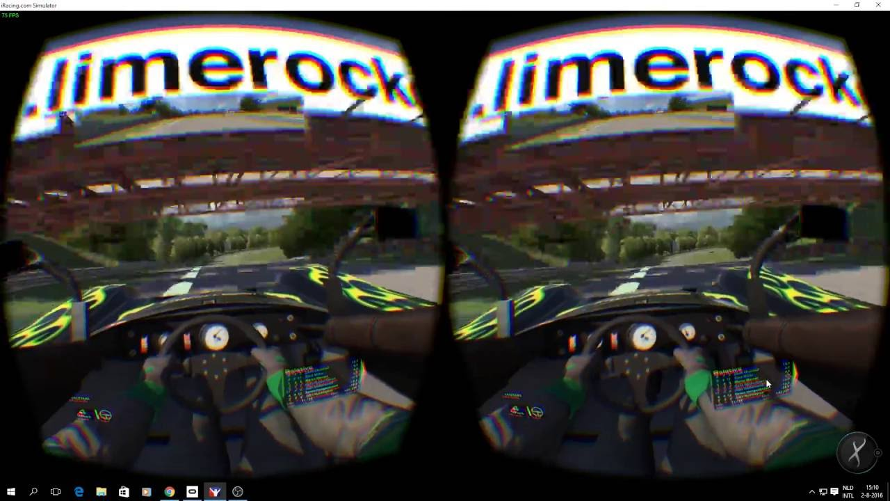VR test Iracing