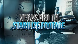 How To Stabilize Videos in Vegas Pro 16