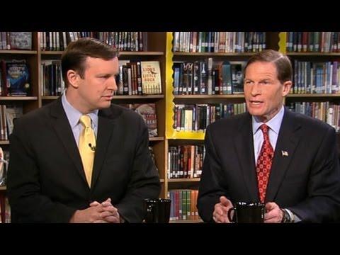 Sen. Richard Blumenthal, Rep. Chris Murphy 'This Week' Interview: Sandy Hook Elementary Tragedy