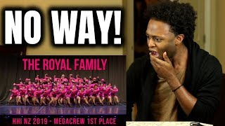 THE ROYAL FAMILY - HHI NZ MEGACREW 1ST PLACE 2019 (THEY ARE NOT HUMAN!) REACTION