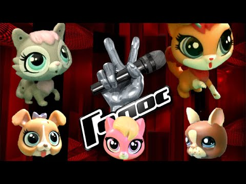 LPS: Голос ( 1-ый тур). Шоу с Littlest pet shop.