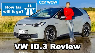 I drove the Volkswagen ID.3 until it DIED! Review.