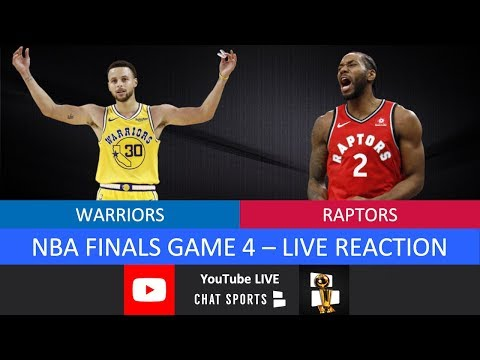 NBA Finals 2019 LIVE: Game 4 Warriors Vs. Raptors Live Stream & Play-By-Play Reaction