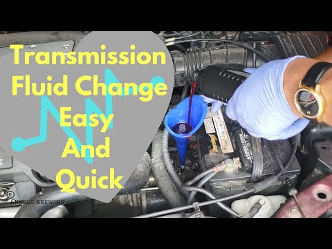 Transmission Fluid Change Easy And Quick - Acura TL 2003