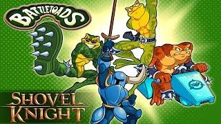 Shovel Knight - Taking on the Battletoads!