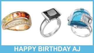 AJ   Jewelry & Joyas - Happy Birthday
