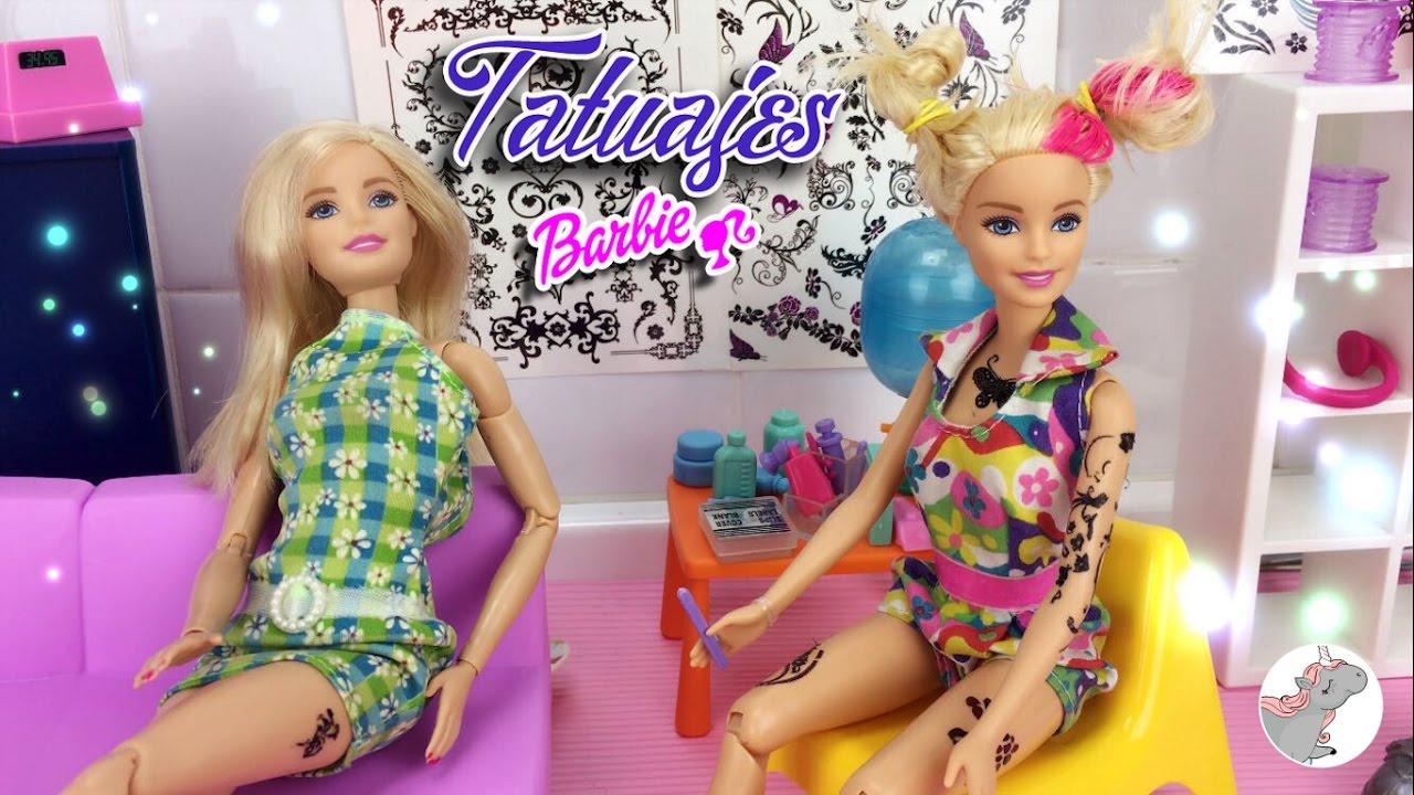 Su Tatuaje Español Muñecas De Barbie Historias Se Y Tiñe En PeloSerie El E2IWDH9