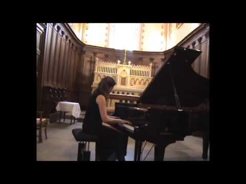 Blandine WALDMANN joue BRAHMS Intermezzo opus 117 n°1