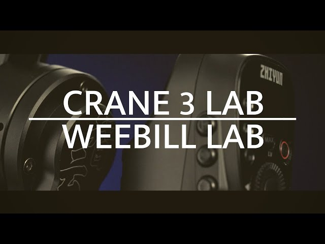 Link Your Future Vision | Zhiyun Crane 3 LAB & Weebill LAB
