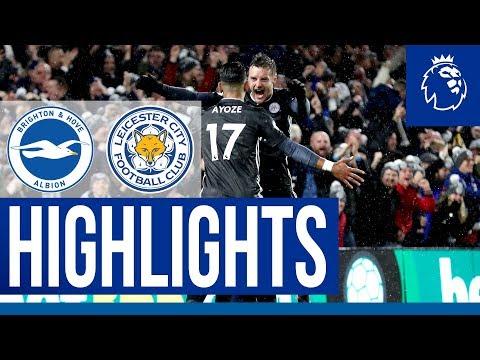 Fifth Straight Premier League Win | Brighton 0 Leicester City 2