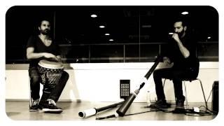 Improvisación de Djembe y Didgeridoo (Marcos Úbeda y Christian dehugo)