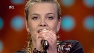 "Rea Matić: ""Turning Tables"" - The Voice of Croatia - Season2 - Blind Auditions2"
