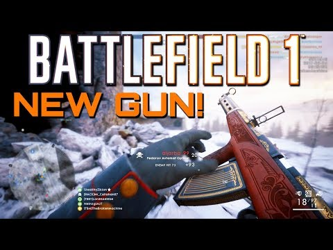 Battlefield 1: The New Fedorov Avtomat Rifle! In The Name of the Tsar DLC CTE (PS4 PRO Gameplay)