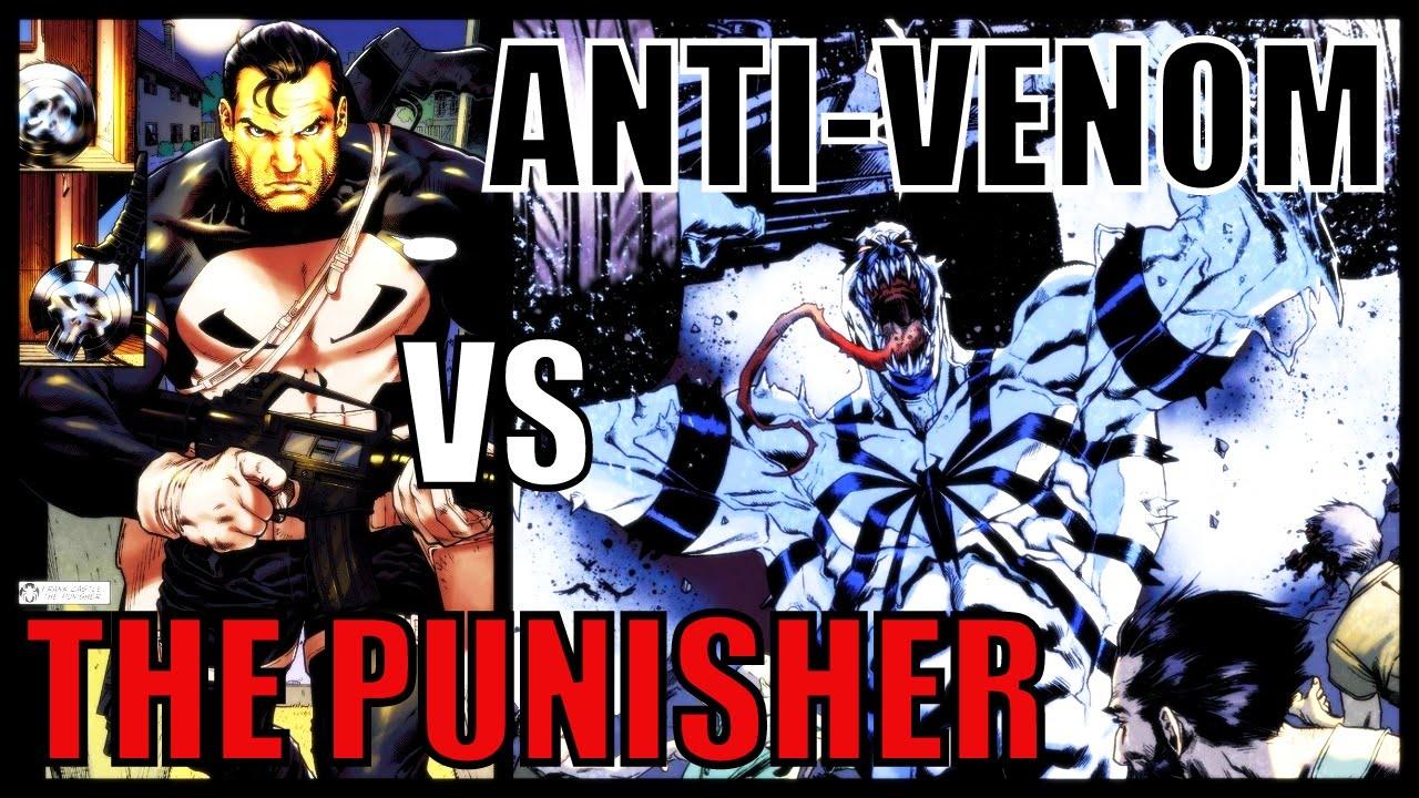 anti venom vs the punisher new ways to live comic history