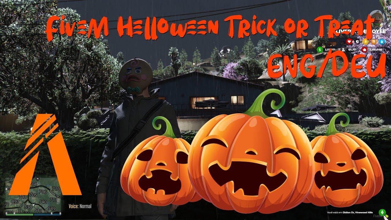 FiveM Helloween Trick or Treat (Süßes oder Saueres) Script ENG/DEU