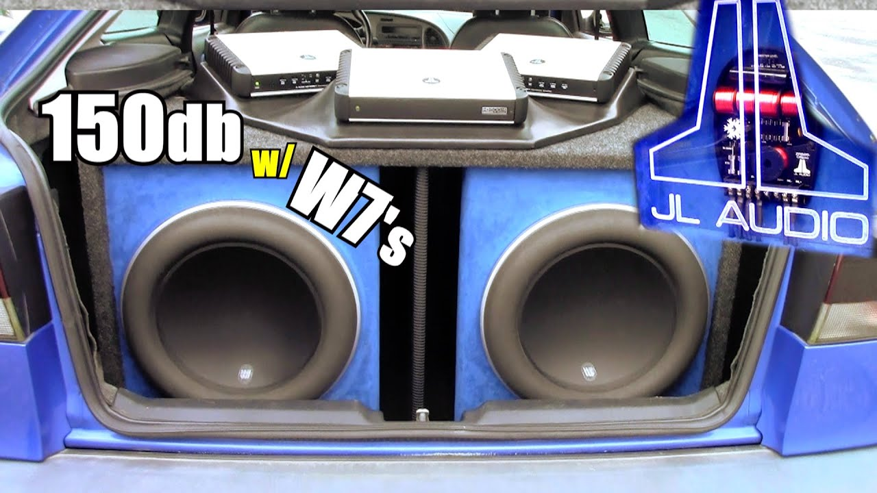 150db Jl Audio Install W Brian S 13w7 Subwoofers Amp Two