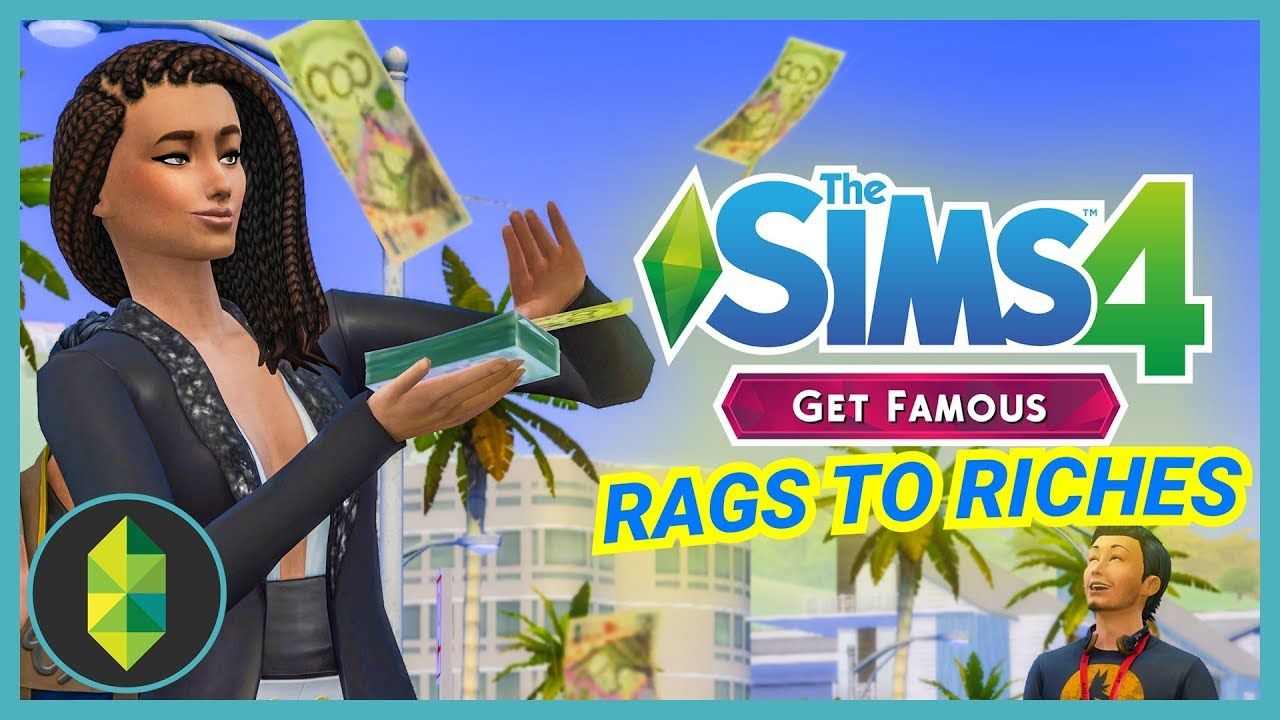 Image result for The Sims Supply  get famous rags to riches