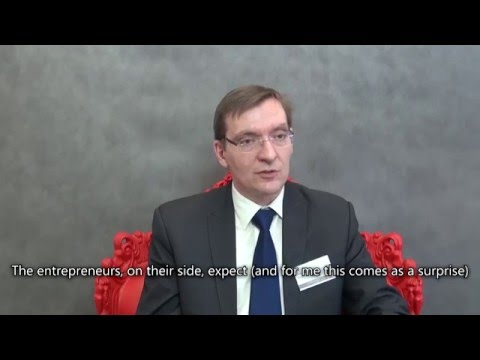 Dariusz Trzmielak - Science and business cooperation. Barriers in Poland