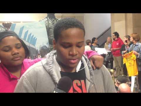 Progress Illinois: Chicago Education Activists Stage Sit-In Outside Mayor