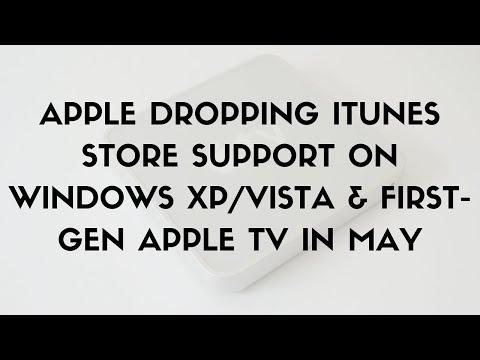 Daily Tech News - Apple dropping iTunes Store support on Windows XP/Vista & first-gen Apple TV