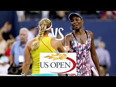 Kerber vs Williams | 2012 US Open Highlights