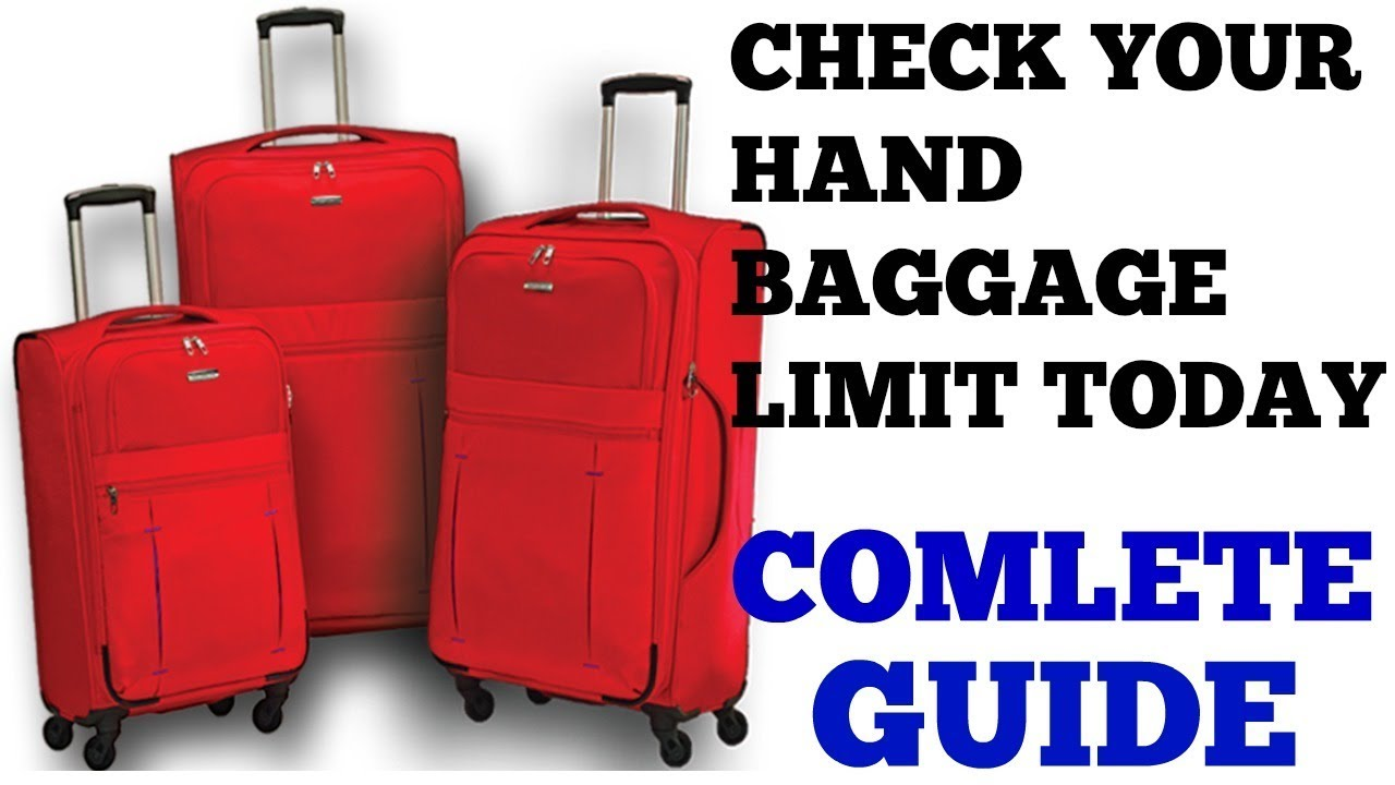 HAND LUGGAGE ALLOWANCE LIMIT? | HINDI | TRAVEL TRICKS | EPISODE 12