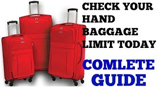 HAND LUGGAGE ALLOWANCE LIMIT? | HINDI | TRAVEL TRICKS | EPISODE 12 thumbnail