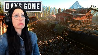 Days Gone Walkthrough Part 31 - Sawmill Horde