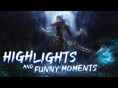 """✴ League of legends - Funny moments ' Normal kills """"8""""."""