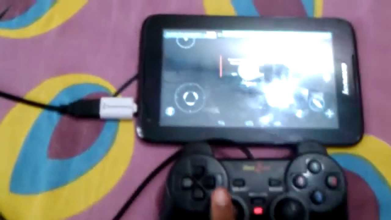 How to connect the joystick to the laptop