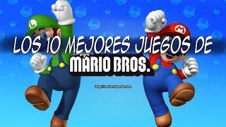 Los 10 mejores juegos de Mario
