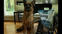 First Looks at Wag Dry Dog Food for our German Shepherd