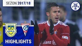 Arka Gdynia - Górnik Zabrze 1:0 [skrót] sezon 2017/18 kolejka 20