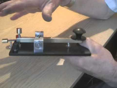 morse key home made