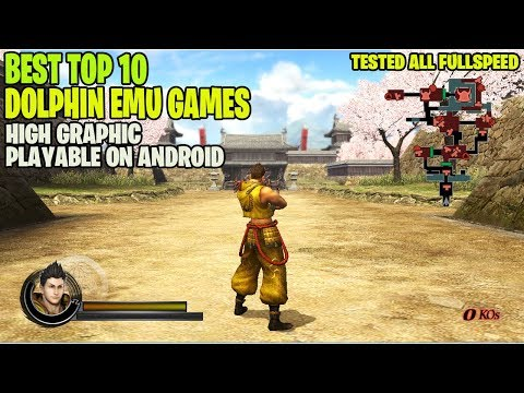 BEST TOP 10 High Graphic Dolphin Emulator Games For Android ( ALL OFFLINE WORK 100% )