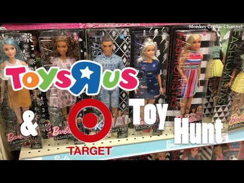 Toys 'R Us and Target Toy Hunt | 7.3.17