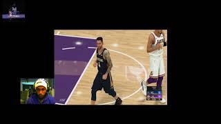 Lakers vs pelicans (2k20 , Jan 3 , 2020 ,full game)  Lakers my leagued