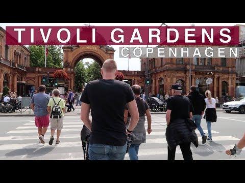 An epic visit to Tivoli Gardens in Copenhagen || #15