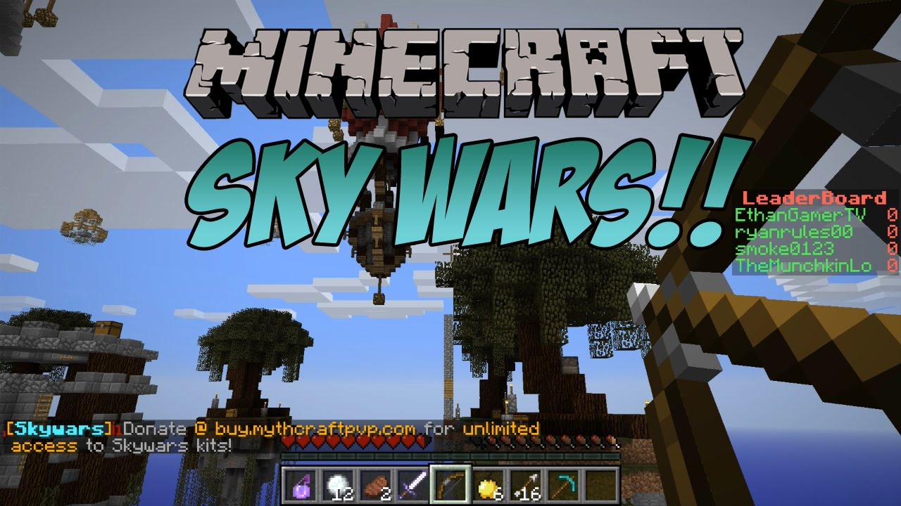 Lets play Minecraft Sky Wars - Part 1 - YouTube