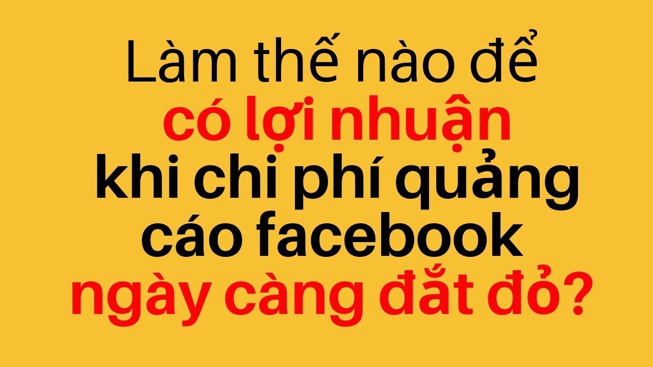 Làm Thế Nào Để Có Lợi Nhuận Khi Quảng Cáo Facebook Ngày Càng Đắt Đỏ? | Thesis Daily 44