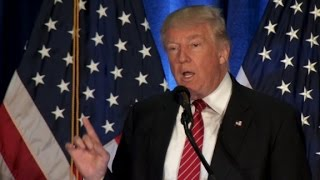 Donald Trump's full terrorism speech (Entire speech)