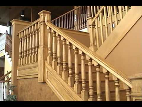 U-Shaped Stair by Designed Stairs, Inc. - YouTube