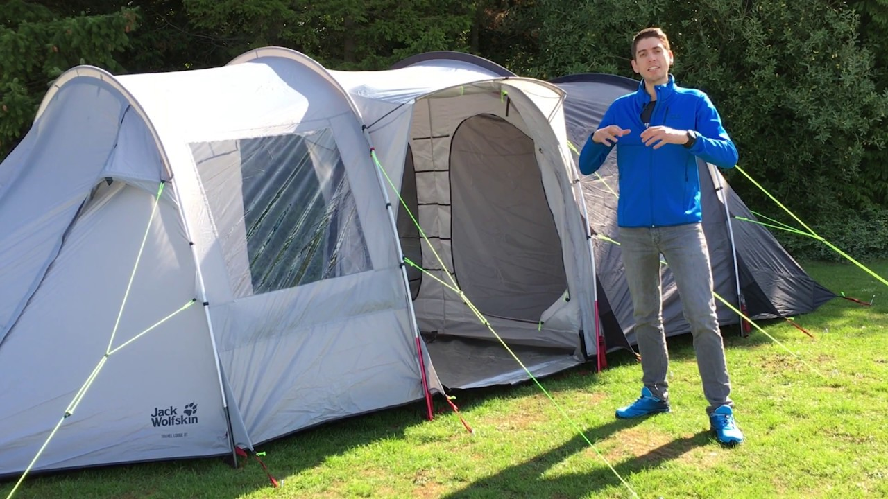 d06e346e2d6 Jack Wolfskin Travel Lodge RT Tent 2019 | CampingWorld.co.uk