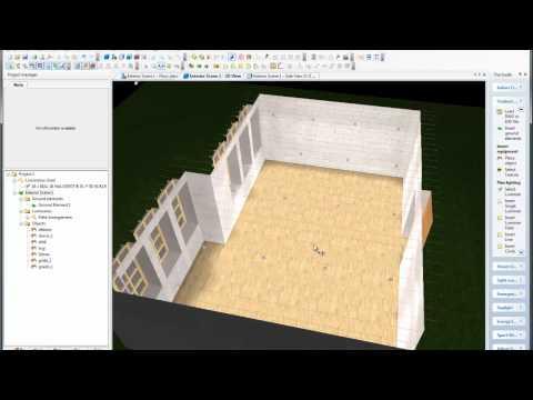 DiaLux 3ds import tutorial