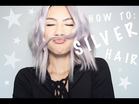 HOW TO : SILVER / GREY HAIR TUTORIAL